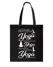 I'm Either Practising Yoga Tote Bag thumbnail