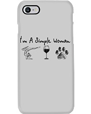 Yoga Wine and Dogs Phone Case thumbnail