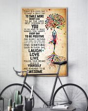 Yoga Today Is A Good Day Poster 11x17 Poster lifestyle-poster-7