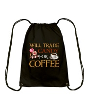 Will Trade Candy For Coffee Drawstring Bag tile