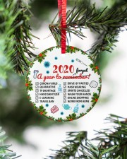 Ornament 2020 A Year To Remember Circle ornament - single (porcelain) aos-circle-ornament-single-porcelain-lifestyles-07