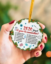 Ornament 2020 A Year To Remember Circle ornament - single (porcelain) aos-circle-ornament-single-porcelain-lifestyles-09