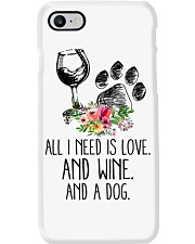 Love Wine Dog pillow  thumb