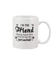 Wine I'm The Friend Mug thumbnail