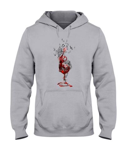 Wine Music Note