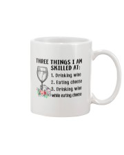 Wine Three Things Skilled Mug thumbnail