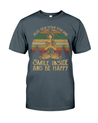 Yoga Smile Inside And Be Happy