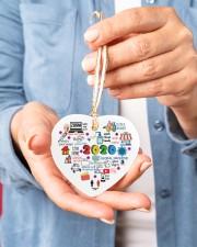 Ornament Global Pandemic Heart Heart ornament - single (porcelain) aos-heart-ornament-single-porcelain-lifestyles-01