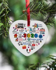 Ornament Global Pandemic Heart Heart ornament - single (porcelain) aos-heart-ornament-single-porcelain-lifestyles-07