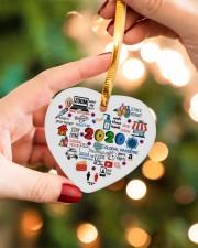 Ornament Global Pandemic Heart Heart ornament - single (porcelain) aos-heart-ornament-single-porcelain-lifestyles-09