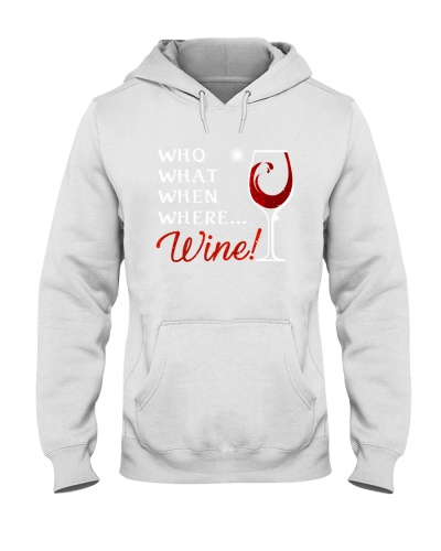 Wine Who What When Where