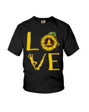 Yoga Love Youth T-Shirt tile