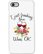 I Just Freaking Love Wine  Phone Case thumbnail