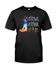 Yoga Let It Hurt Classic T-Shirt front