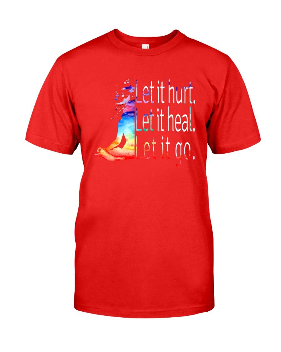 Yoga Let It Hurt Classic T-Shirt