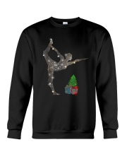 Yoga Christmas Crewneck Sweatshirt thumbnail