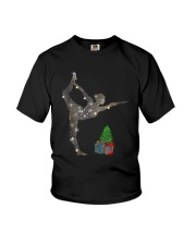 Yoga Christmas Youth T-Shirt thumbnail
