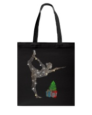 Yoga Christmas Tote Bag thumbnail