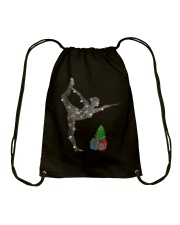 Yoga Christmas Drawstring Bag thumbnail