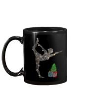 Yoga Christmas Mug back