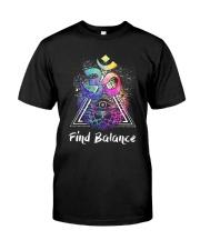 Find Balance Yoga  Classic T-Shirt thumbnail