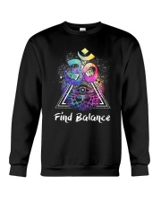 Find Balance Yoga  Crewneck Sweatshirt tile