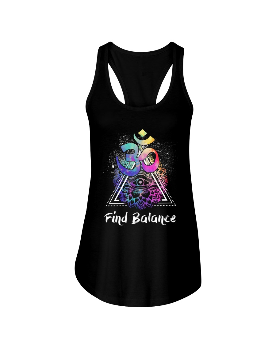 Find Balance Yoga  Ladies Flowy Tank