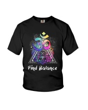 Find Balance Yoga  Youth T-Shirt thumbnail
