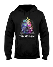 Find Balance Yoga  Hooded Sweatshirt thumbnail
