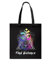 Find Balance Yoga  Tote Bag thumbnail