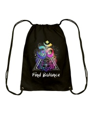 Find Balance Yoga  Drawstring Bag thumbnail