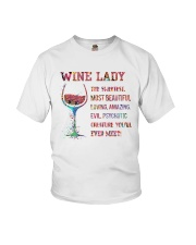 Wine Creature You'll Ever Meet Youth T-Shirt thumbnail