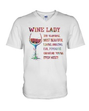 Wine Creature You'll Ever Meet V-Neck T-Shirt thumbnail
