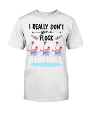 Wine I Really Don't Give A Flock Classic T-Shirt front