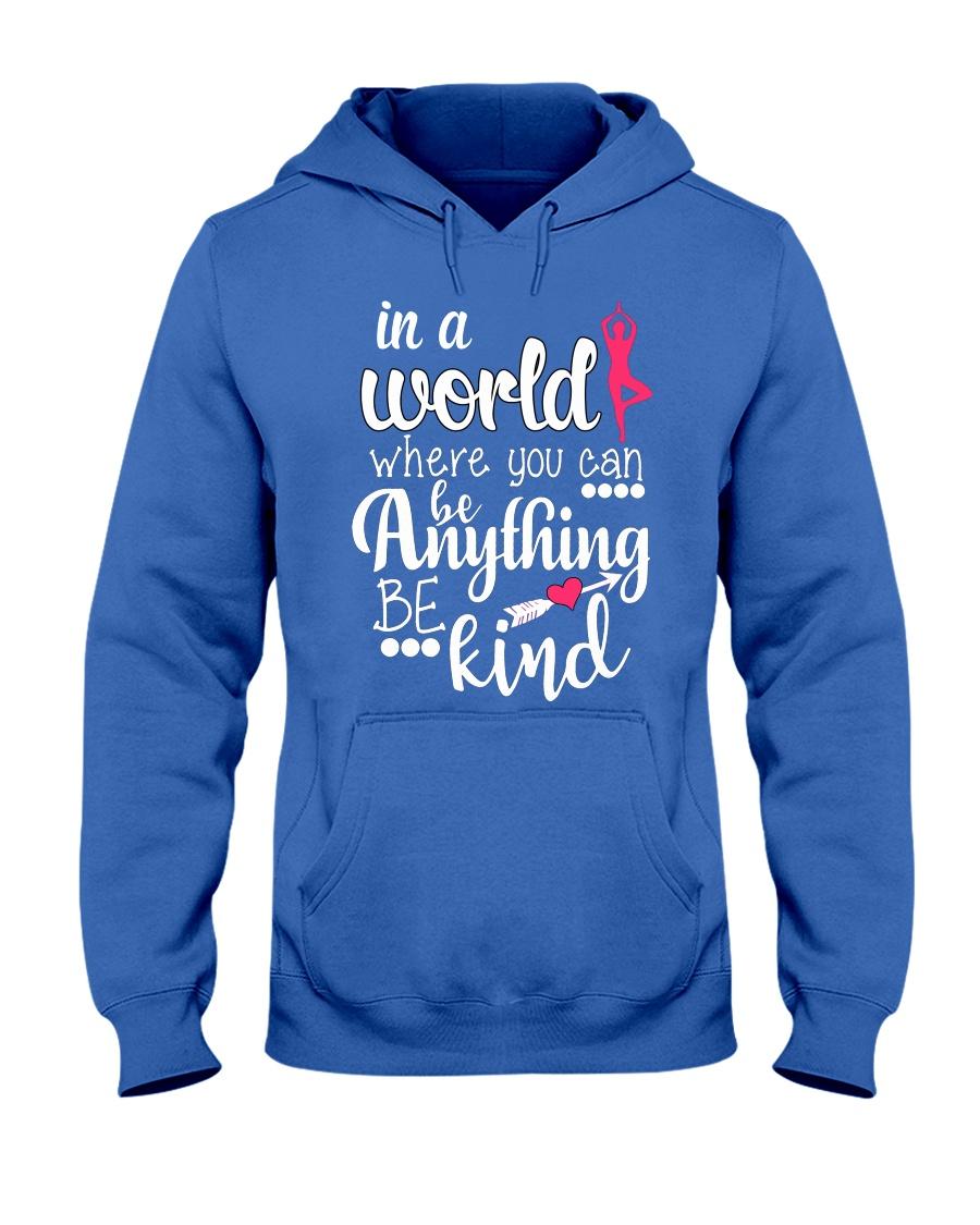 Yoga- In a world Hooded Sweatshirt showcase
