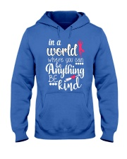 Yoga- In a world Hooded Sweatshirt front
