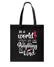 Yoga- In a world Tote Bag thumbnail