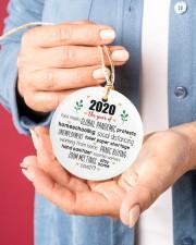 Ornament Global Pandemic Circle ornament - single (porcelain) aos-circle-ornament-single-porcelain-lifestyles-01