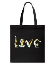 Yoga Love Tote Bag thumbnail