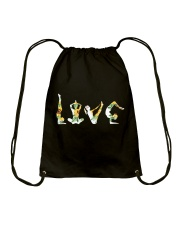 Yoga Love Drawstring Bag thumbnail