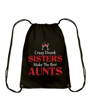 Crazy Drunk Sisters Drawstring Bag thumbnail
