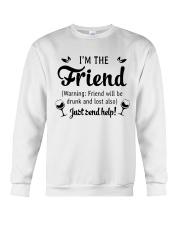 Beer I'm The Friend Crewneck Sweatshirt thumbnail