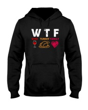 Wine Family Hooded Sweatshirt front