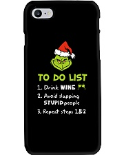 Wine To Do List  Phone Case thumbnail