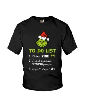 Wine To Do List  Youth T-Shirt thumbnail