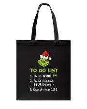 Wine To Do List  Tote Bag thumbnail