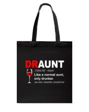Wine Draunt Tote Bag thumbnail