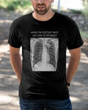 Golden retriever In My Heart X-Ray Classic T-Shirt apparel-classic-tshirt-lifestyle-front-50
