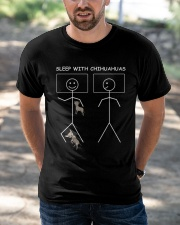 Sleep with Chihuahuas Classic T-Shirt apparel-classic-tshirt-lifestyle-front-50