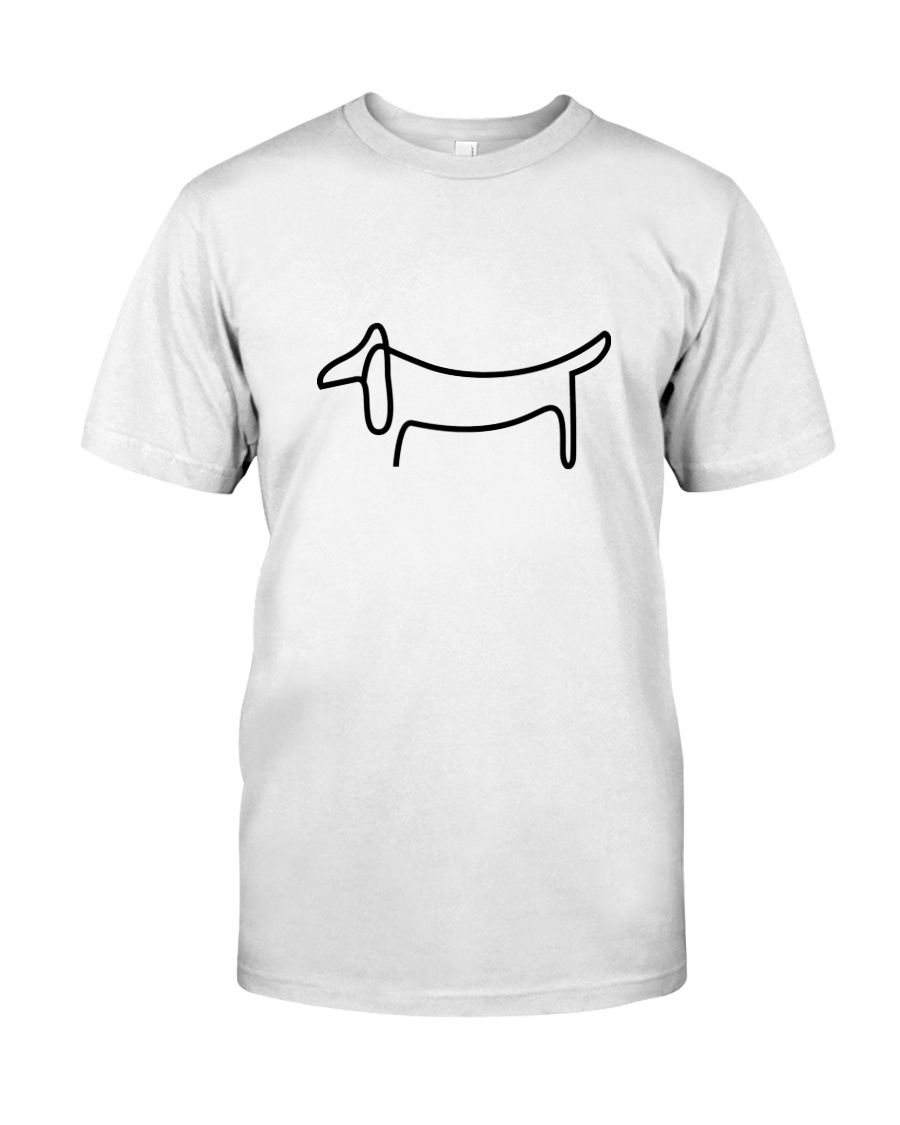 Dachshund Design  Classic T-Shirt